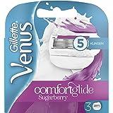 Gillette Venus ComfortGlide Sugarberry Rasierklingen Frauen, 1er Pack (1 x 3 Stück)
