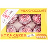 Tunnock's Milk Chocolate Tea Cakes, 6x24g
