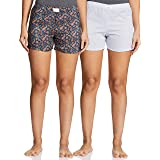 Diverse Women's Regular Fit Cotton Shorts