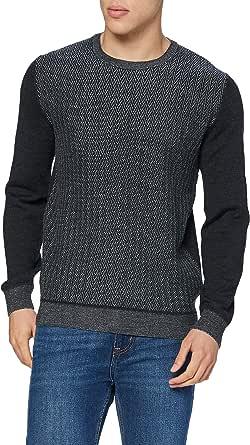 Pierre Cardin Men's Bicolor Jacquard Strickpullover Sweater