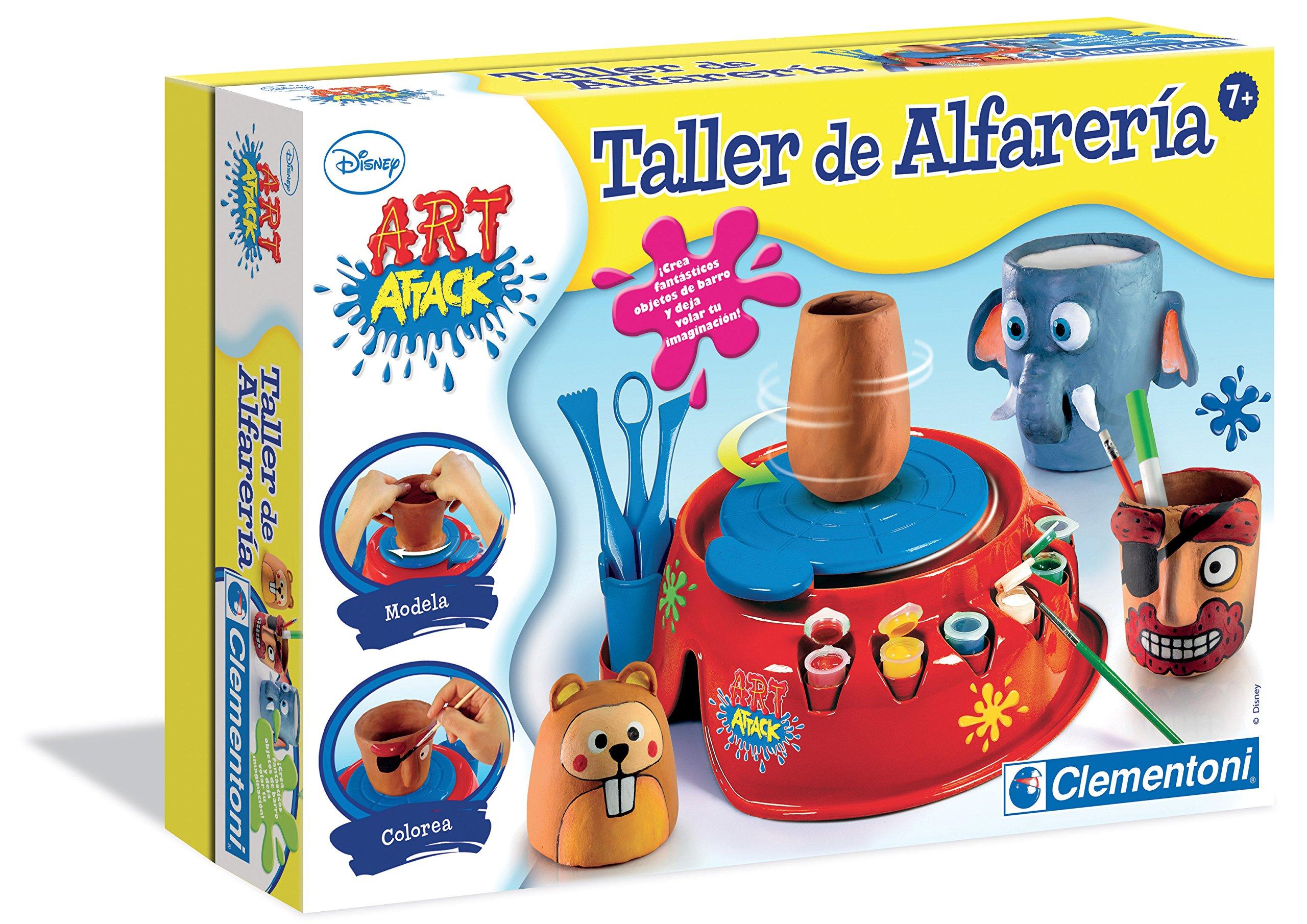 Clementoni – Taller de alfarería Art Attack (65495.6)
