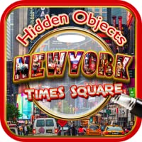 Hidden Objects: New York City Times Square & Central Park FREE