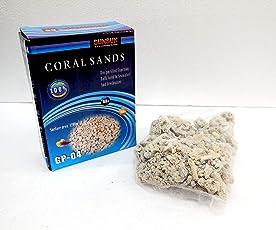 ANMSALES GP-04 SUNSUN High Quality Coral Sands Filter Media for Fish Tank Marine Tanks. Aquarium Fish Tank Filter Media