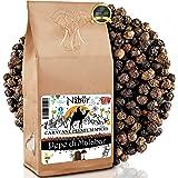 Nabür - Pepe Nero di Kerala Malabar 200gr ⭐ Pepe Malabar intero dell'India, Fruttato, Note affumicate