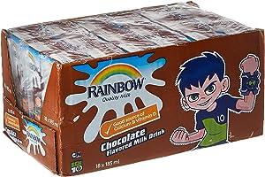راينبو  حليب بالشوكولاته- 18 علب/185 مل