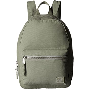 8670aeef092 Herschel Cotton Canvas Grove X-Small Backpack light green
