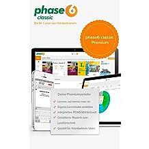 phase-6 classic Premium (2017) inklusive App für Android & iOS - 1 Nutzer / 12 Monate [Online Code]