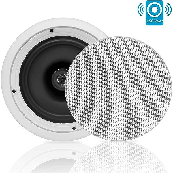 8'' 2 Way Midbass Woofer Speakers Pair In WallIn Ceiling
