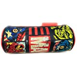 HMI Marvel Avengers Polyester Round Shaped Pencil Bag