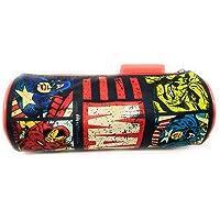 HMI Marvel Avengers Polyester Round Shaped Pencil Bag