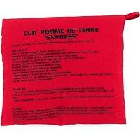 Cuisy KC22531/ED Sac Cuiseur Pomme De Terre Rouge Micro-Onde Lavable Reutilisable Cuisson Rapide, Textile-Polyester, 26…
