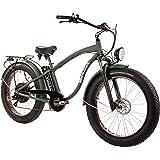"""Tucano Bikes Monster 26. Vélo électrique 26"""" Moteur: 1.000W-48V Suspension Avant Freins hydrauliques Vitesse Maximale: 42km/H Batterie: 48V AH (Vert)"""
