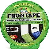Frog Tape Groene Multi Surface Painters Afplaktape 24mm x 41.1m. Indoor schilderen en decoreren voor scherpe lijnen en geen v