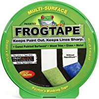 Frog Tape Green Multi Surface Painters Masking Tape 24mm x 41.1m. Indoor painting and decorating for sharp lines and no…