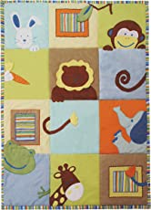 Baby Cot Bedspread- Head & Tail