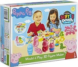 Peppa Pig Peppa Wutz Knete, Formen und Spielen, 3D-Figuren herstellen, Mehrfarbig