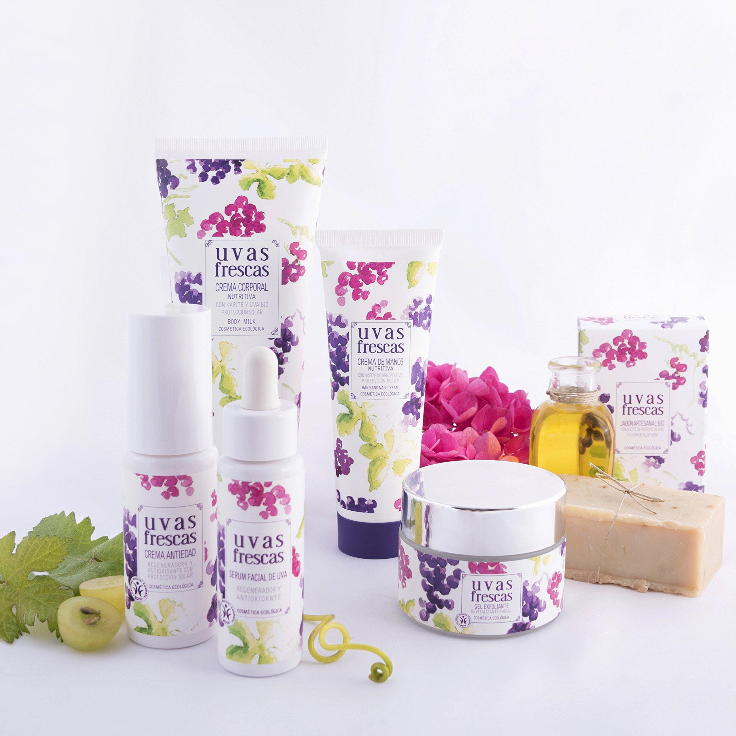 Uvas Frescas - Espuma Limpiadora Ecológica con Aloe - Ecoptima