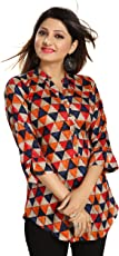 THE DRESSERY Women's Rayon Printed Top