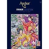 dise/ño de jard/ín japon/és Anchor Maia Kit de Punto de Cruz