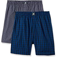 Hanes Men's Cotton Boxer Shorts (Pack of 2)(Colors & Print May Vary)