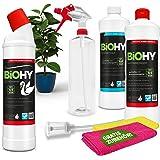 BIOHY Silent Toilet Complete Set   WC Zwaan   Sanitairreiniger   Leidingreiniger   Sproeifles   Microvezeldoekjes   Doser   D