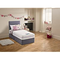 Silentnight Healthy Growth Junior Extra Comfort Kids Mattress - Small Double, Lilac Gingham
