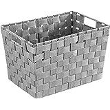 WENKO Aufbewahrungskorb Adria S Rot F/üllk/örbchen W/äschebox Ablage spielzeugbox