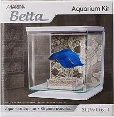 Hagen Marina Betta Aquarium Starter Kit, Skull