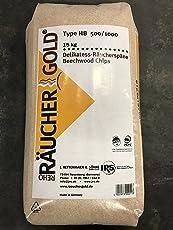 RG HB 500/1000 15kg Räuchergold Buchenholz Räuchermehl