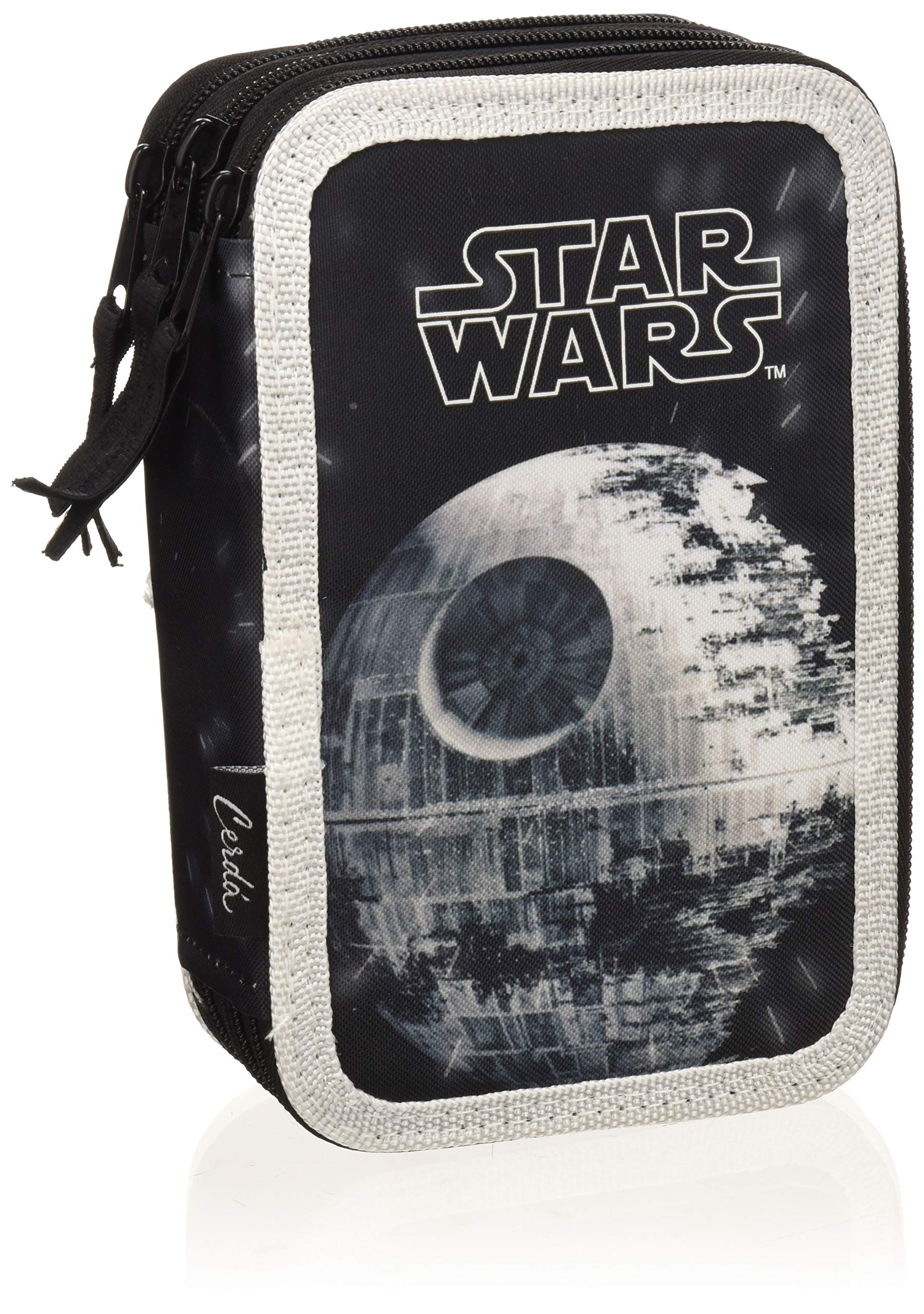 STAR WARS Star Wars-2700000223 Plumier, Multicolor, 19 cm (Artesanía Cerdá CD-27-0223)