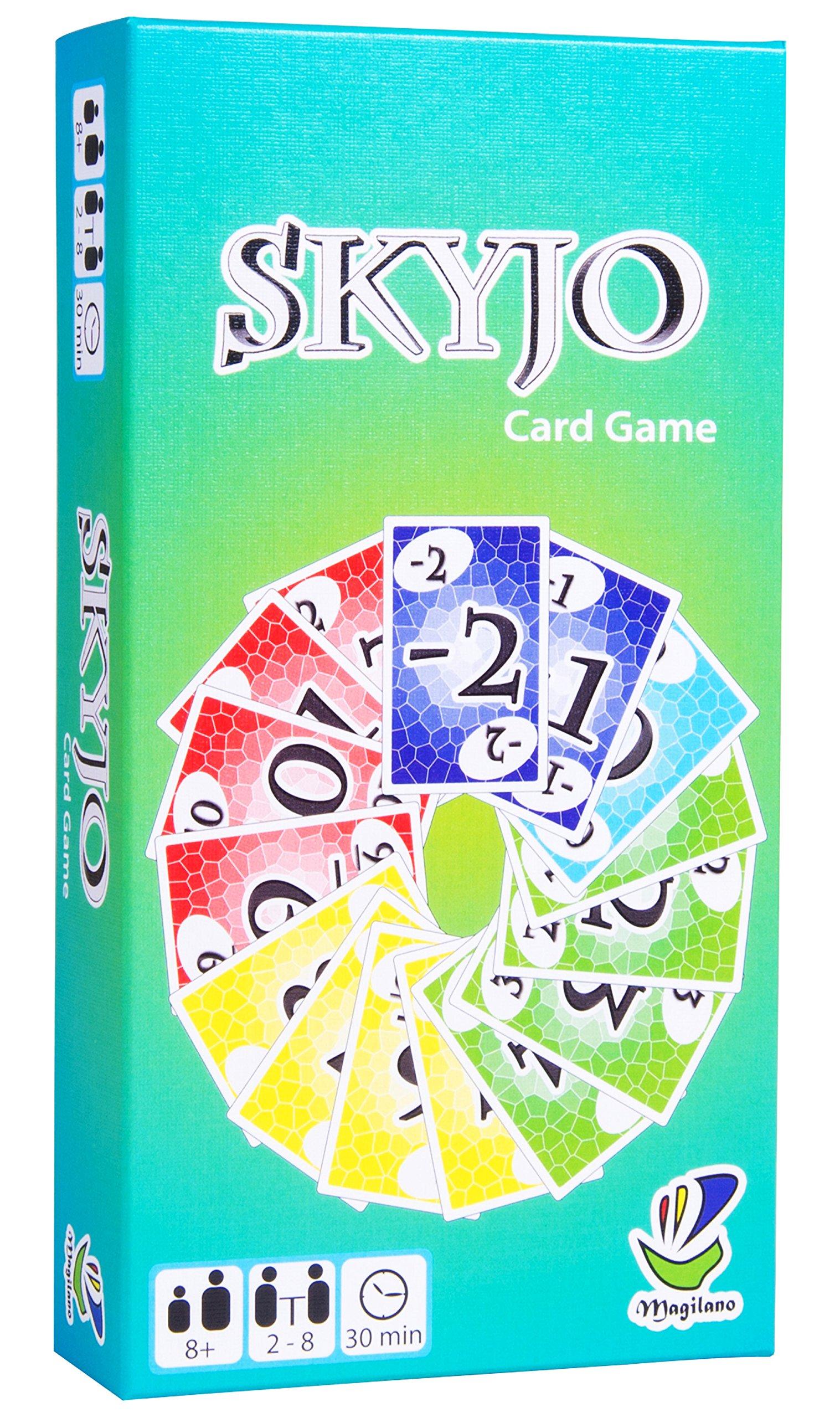 SKYJO, von Magilano - Das unterhaltsame Kartenspiel für Jung und Alt. Das ideale Geschenk für spaßige und amüsante…