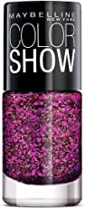 Maybelline New York Color Show Party Girl Nail Paint, Party Lights, 6ml