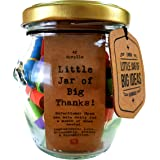 Little Jar of Big Thanks – Thoughtful Gift - Unique Present - Artisan Handcrafted Gift (Standard)
