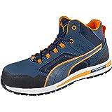 Puma Safety PU633140-39, Zapatillas de Atletismo Unisex Adulto, BLU/Arancione, 39 EU