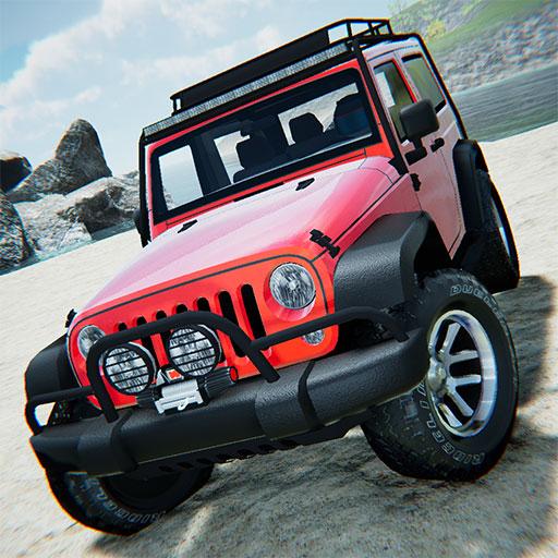 Offroad Jeep Driving Simulator