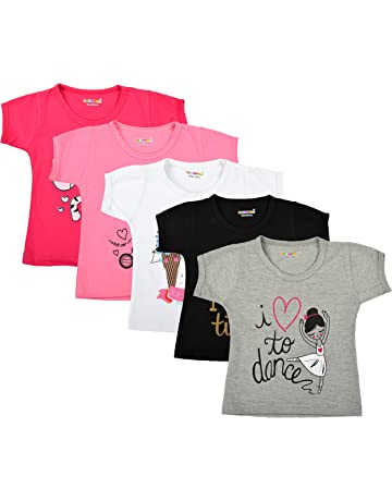 10e1b34ccff5 Girls Tops: Buy Girls Tops online at best prices in India - Amazon.in
