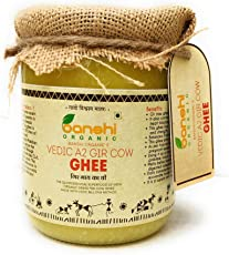 Banshi Organic Desi Gir Cow A2 Ghee-500 ml