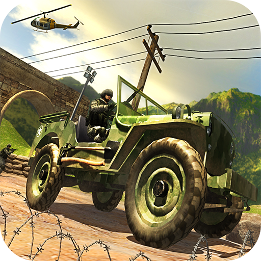 Border Patrol Spiele (US Military Truck Drive: Army Vehicle Driving 2018)