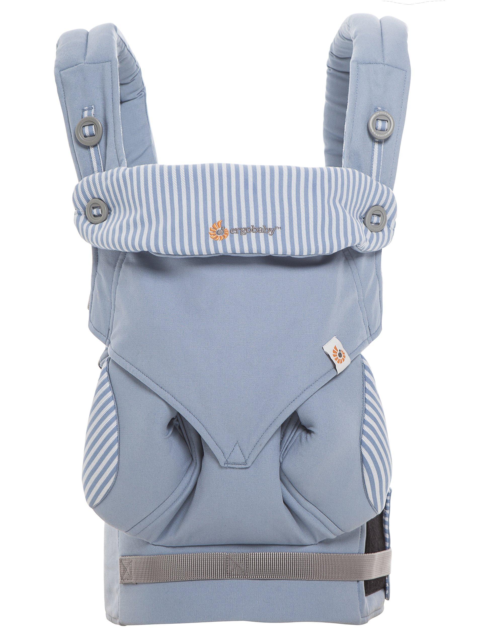 Ergobaby 4 Position 360 Baby Carrier, Azure Ergobaby Four ergonomic positions Maximum comfort for parent Comfort & proper ergonomics for baby 3
