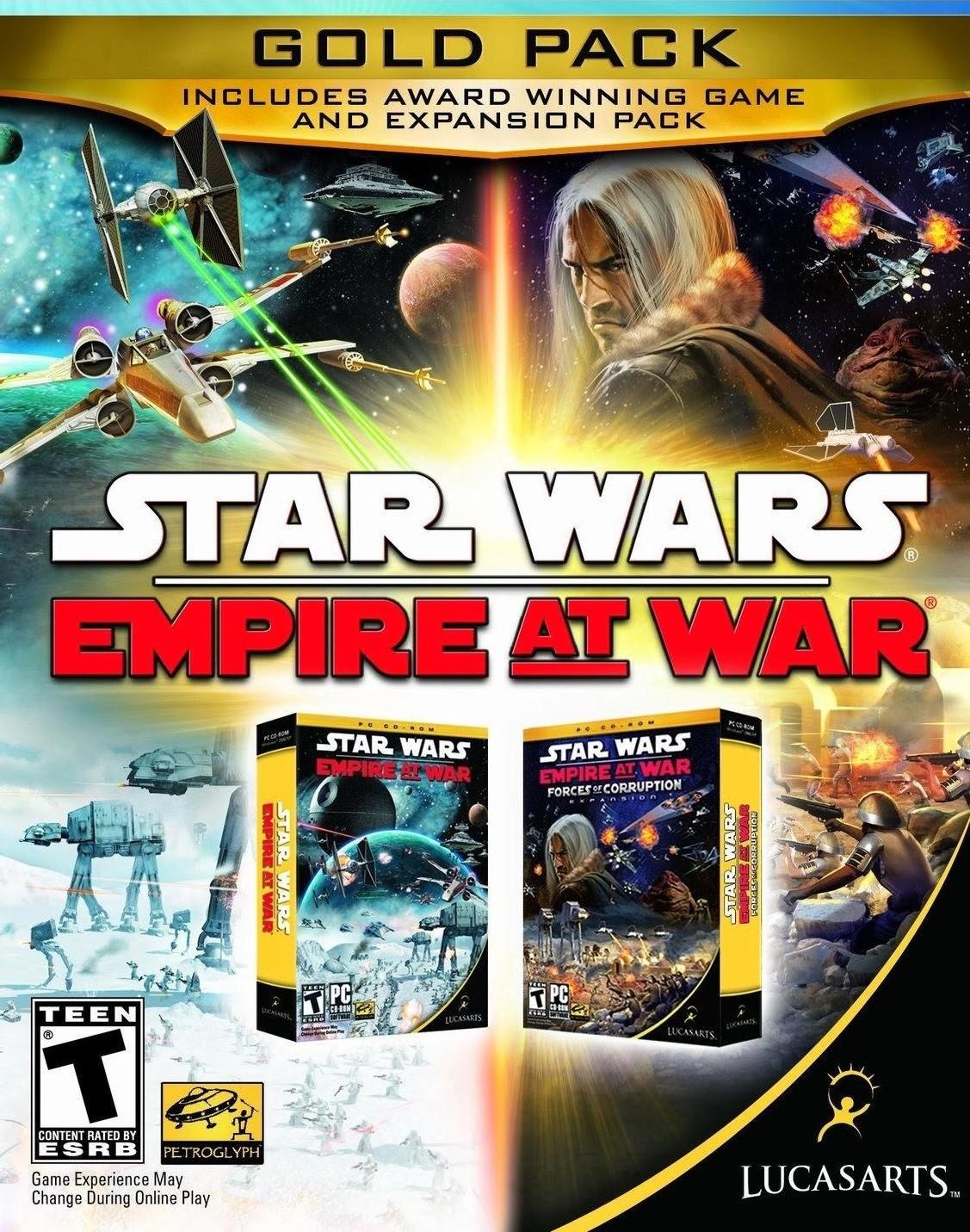 Star War Empire at War: Gold Pack [PC Code - Steam]