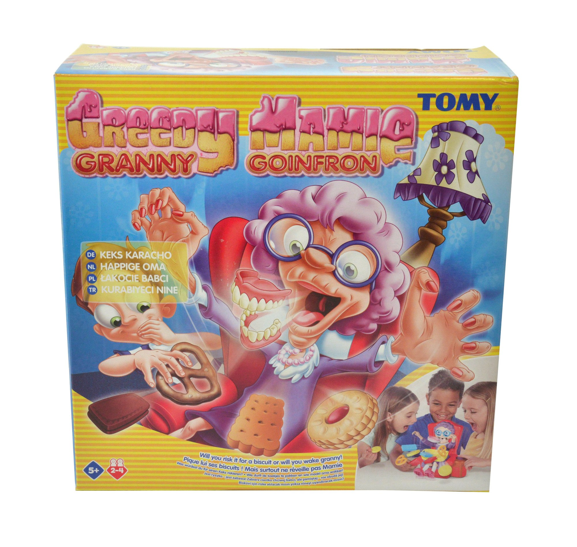 Tomy T72465 Greedy Granny Childrens Surprise Action Game For 2 To