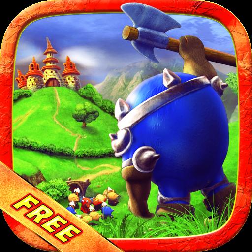 Bun Krieg – der coole Kampf der Strategie! Kostenlose Spiele für Jungen, Mädchen, Kinder. App gratis (Bau-mädchen)