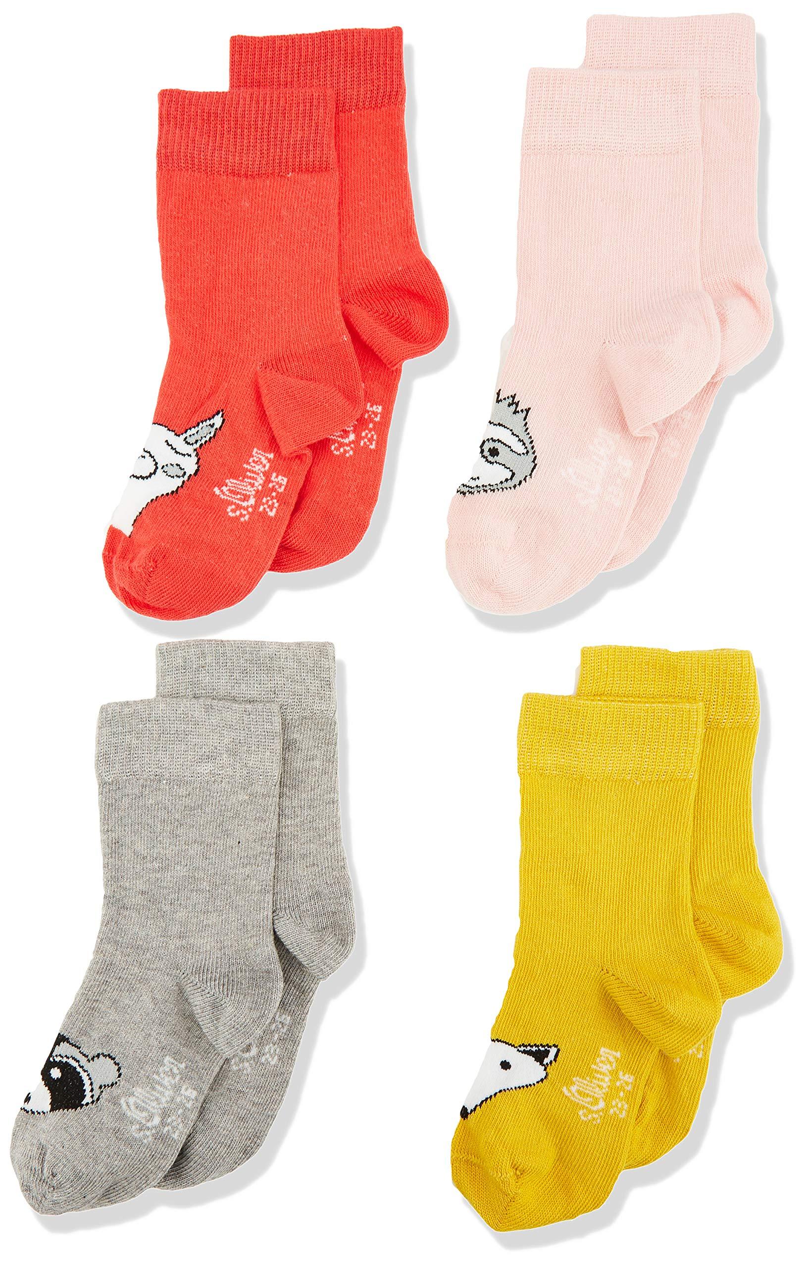 s.Oliver Socks Calcetines (Pack de 4) para Bebés 1