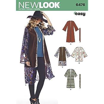 Simplicity Muster 8172 Schnittmuster Fashion Kimonos mit Länge ...