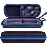 Tasche für Bite Away-Elektronischer Stichheiler Tasche Taschen Reise Hülle Case von LAVSS,Schwarz mit Blauer Zip