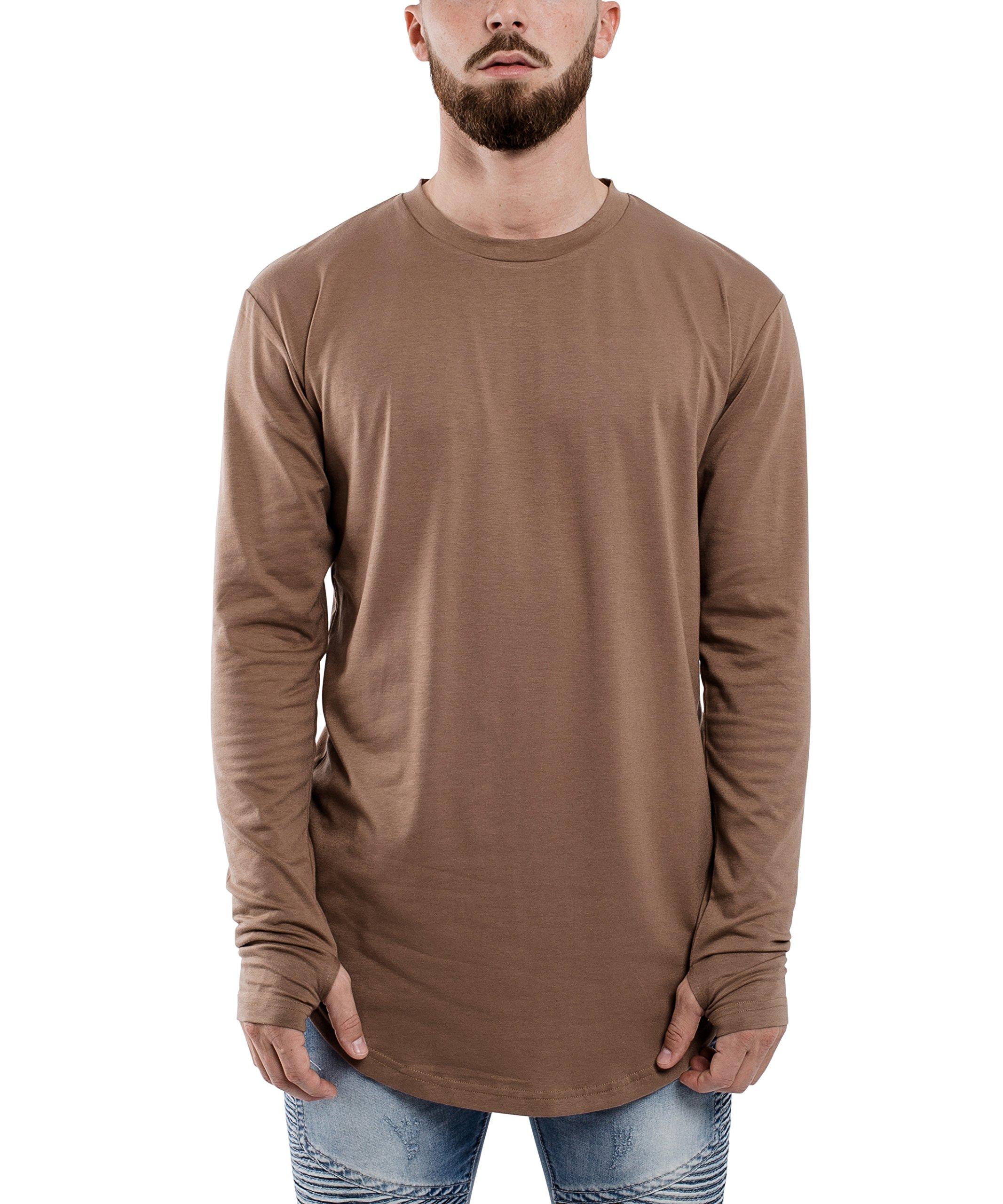 f6800f550a54ab Blackskies Round Longsleeve T-Shirt