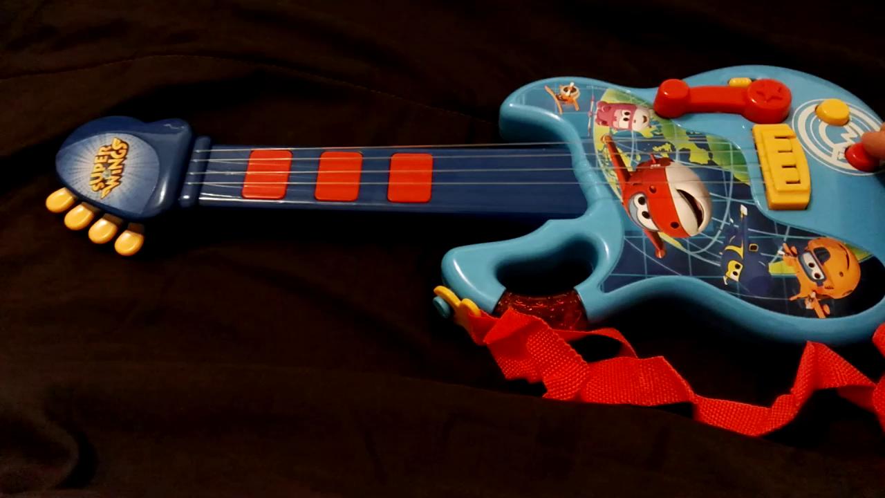 Super Wings Superwings Guitarra (Claudio Reig 2124): Amazon.es: Juguetes y juegos