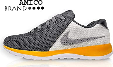 Amico Grey White Men's Casual Shoes