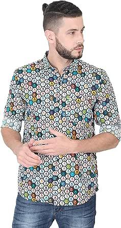 GUNIAA Digital Printed Full Sleeve Shirts