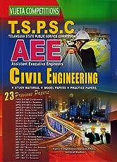 TSPSC Assistant Executive Engineers ( AEE )- CIVIL ENGINEERING [ ENGLISH MEDIUM ]